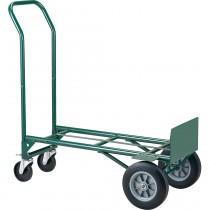 TOTALPACK® Heavy-Duty Hand Truck Metal Dual Purpose Solid Wheels 1 Unit