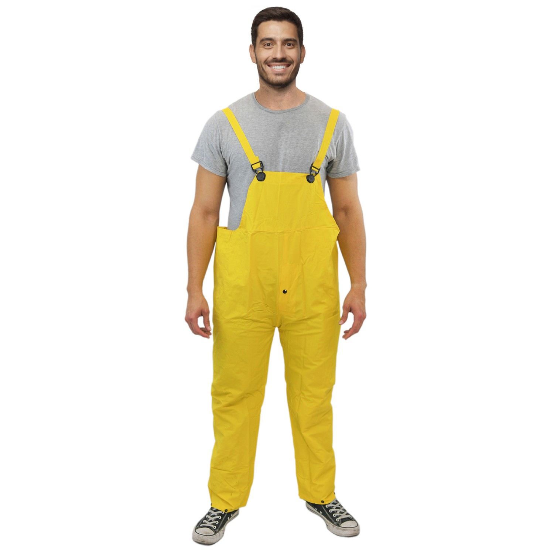 TOTALPACK® 3 Piece Economy Rain Suit Yellow X-Large 1 Set