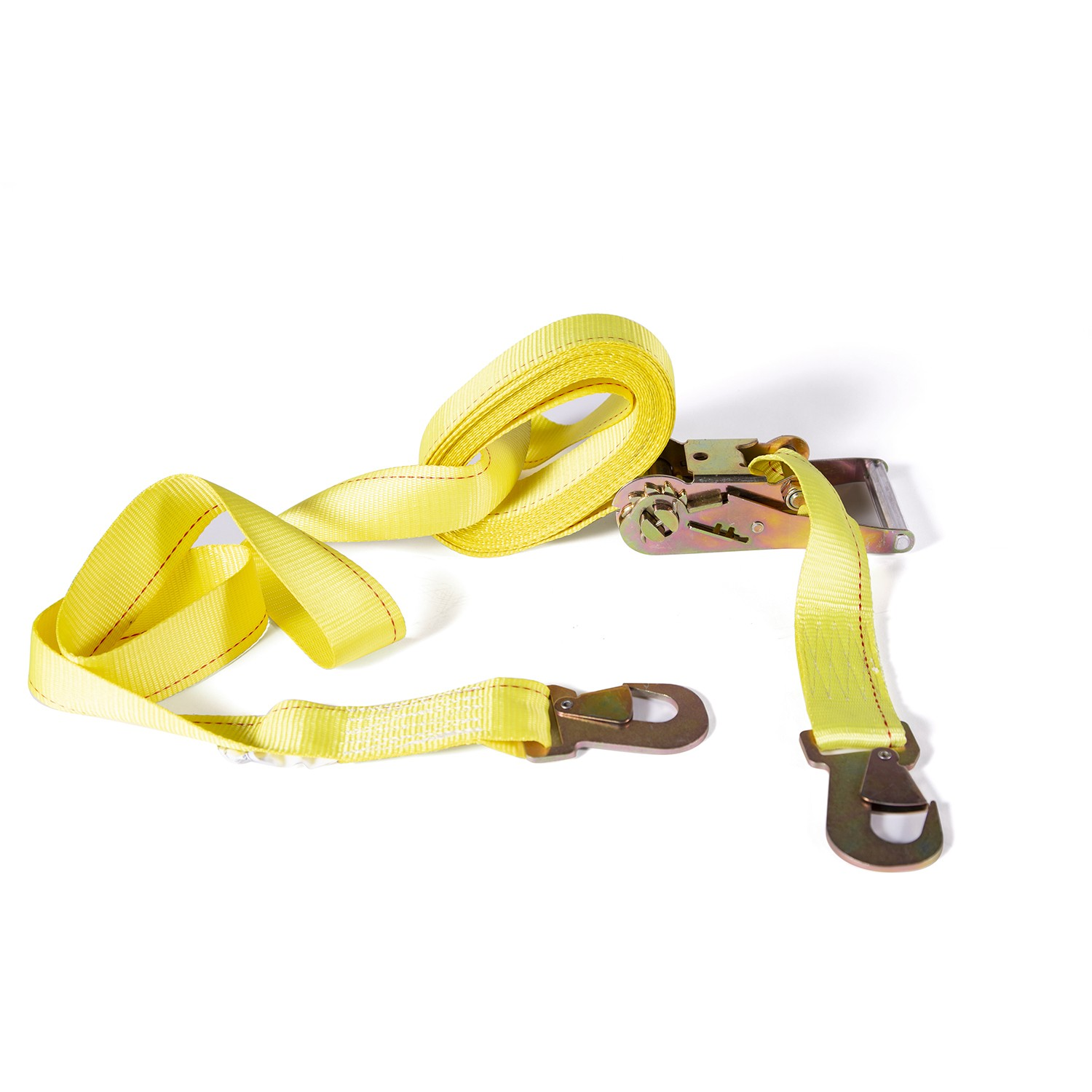 "TOTALPACK® Cargo Strap With   Ratchet 2"" x 30 ft With Flat Snap Hook"