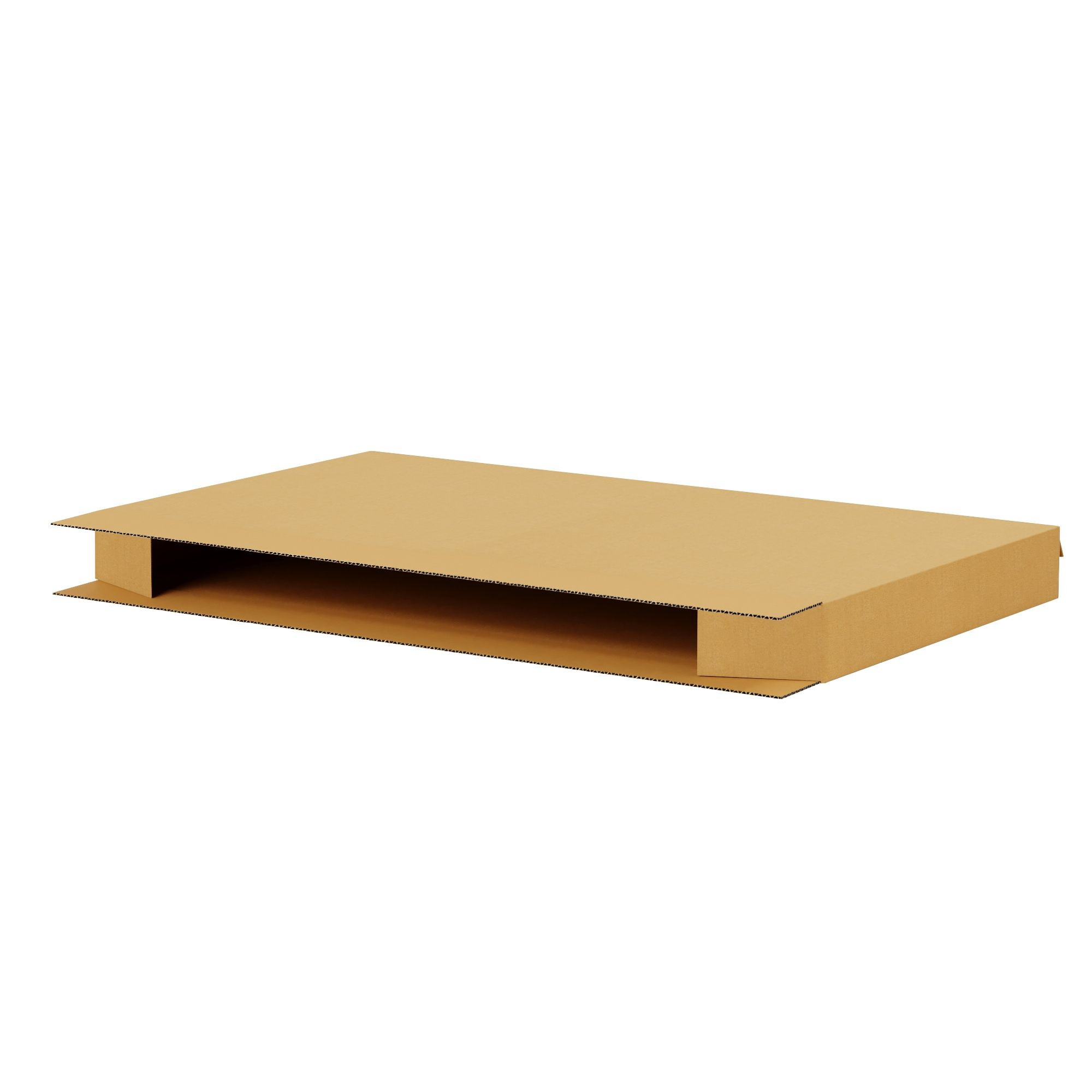 "TOTALPACK® 80 x 8 1/2 x 40"" King - Queen Mattress Corrugated Boxes 1 Unit"