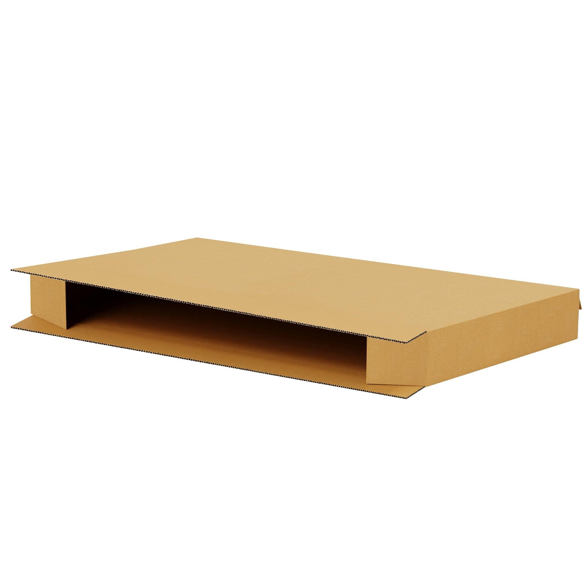 "TOTALPACK® 39 1/2 x 8 1/2 x 75 1/8"" Twin Mattress Corrugated Boxes 5 Unit"