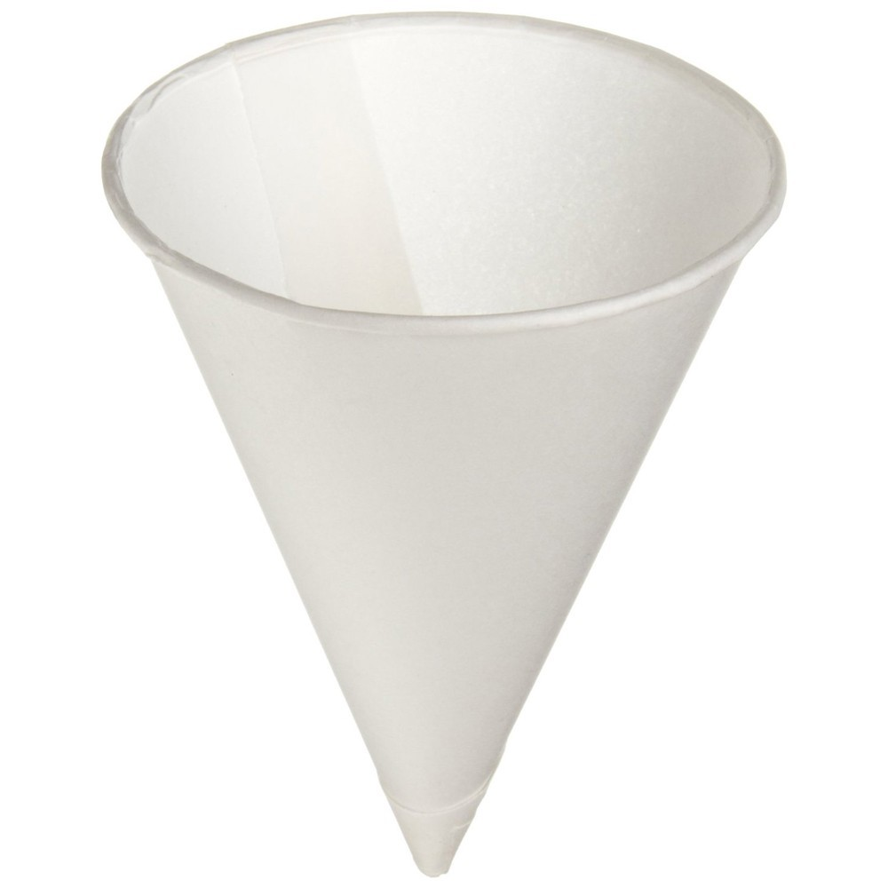 TOTALPACK® 4 1/2 Oz Cone Paper Cups 5000 Units