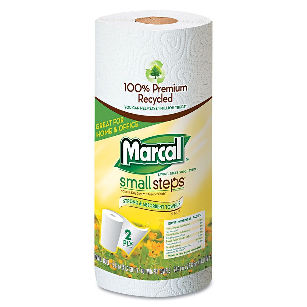 "11"" x 52.5"" Marcal® 2-Ply Paper Towels, 15 Units"