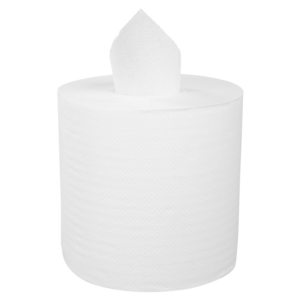TOTALPACK® 450', 2 Ply High quality Center Pull Towel 600 Tears per Roll, 6 Rolls per Case