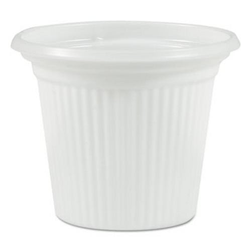 "TOTALPACK® 3/4"" Plastifar Plastic Souffle Cup ""Cuban Cups"" 5000 Units"