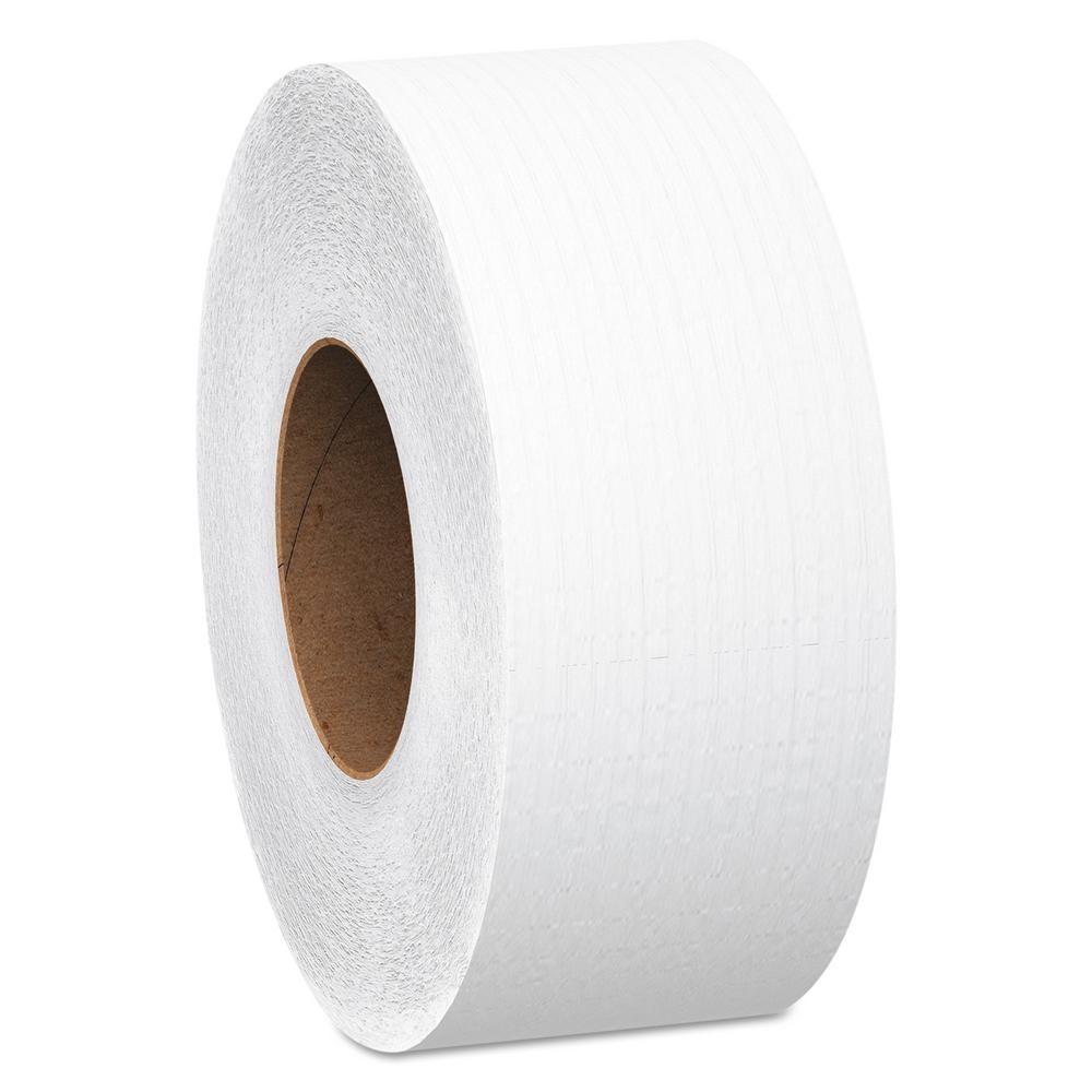 """TOTALPACK® 500' Jumbo Roll Tissue 2 Ply, 9"""" Roll Diameter 12 Rolls per Case"""