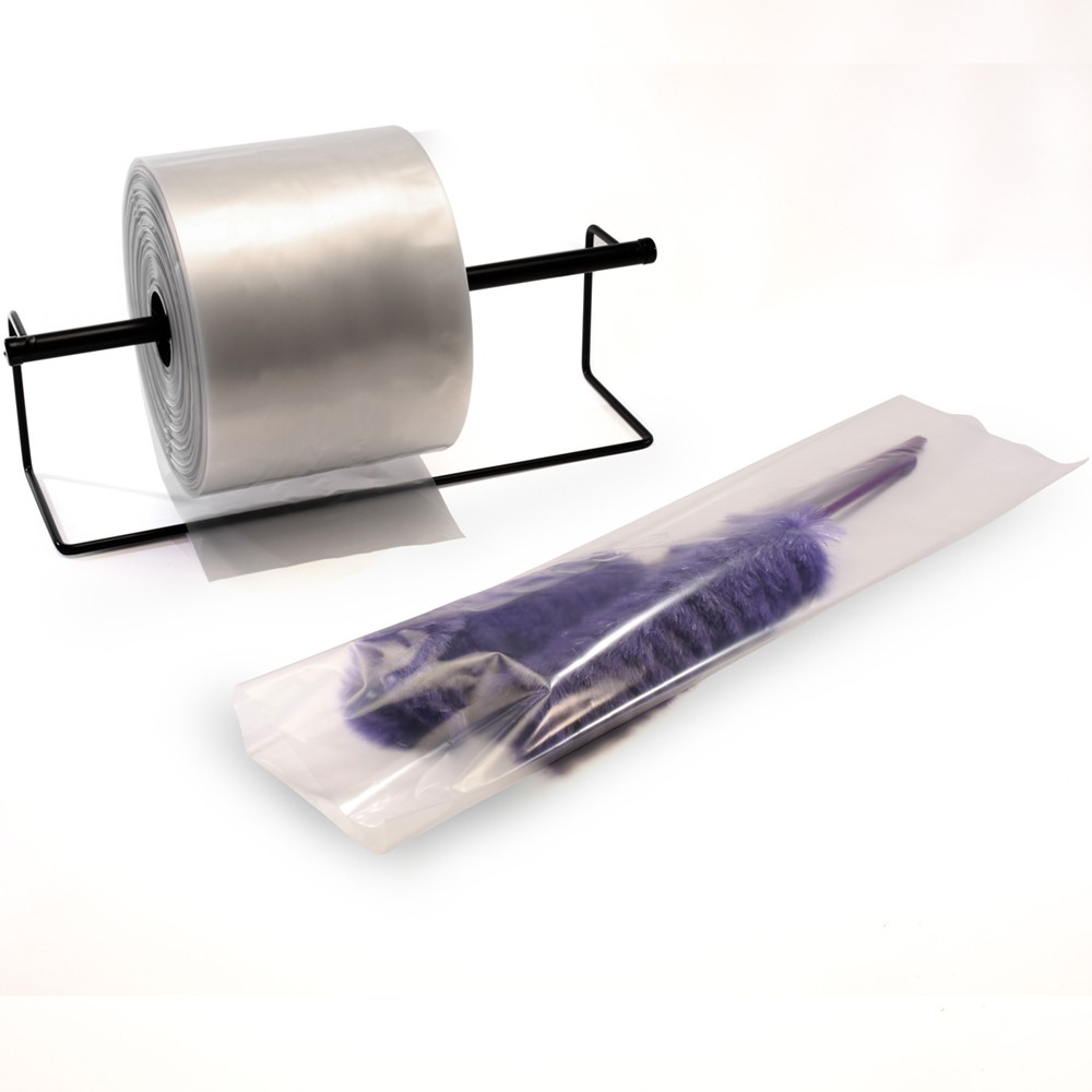 Poly Tubing by TOTALPACK® Plastic Tubing Industrial Strength Polypropylene Bags