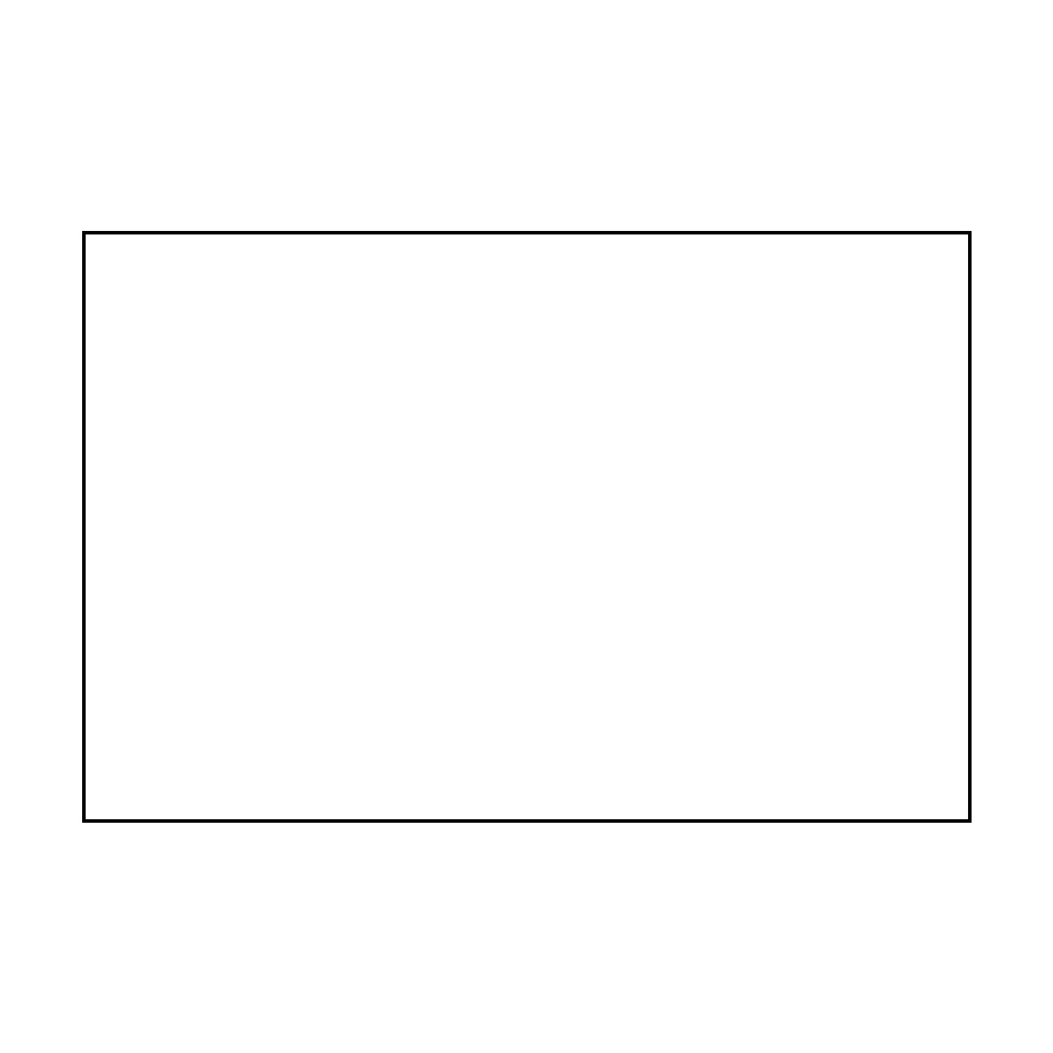 """TOTALPACK® 4 x 6"""" - White Block Out Labels, 50 Labels"""