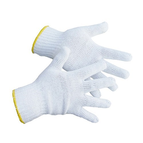 TOTALPACK® Large White Gloves Cotton Plain 1 Pair