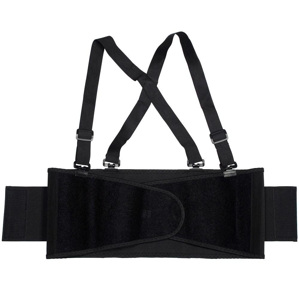 TOTALPACK® Economy Back Support Belt with Suspender - Large Black, 1 Unit