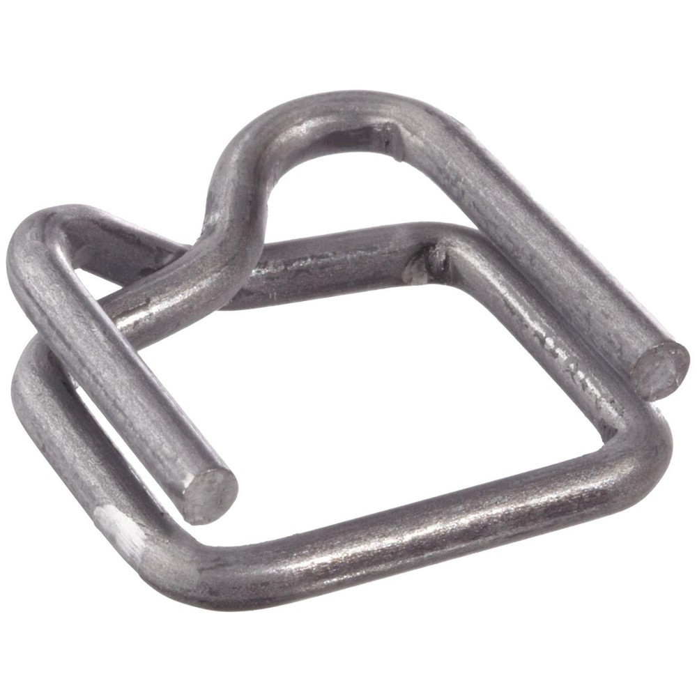 "1/2"" Metal Buckles for Poly Strapping 1000 Units"