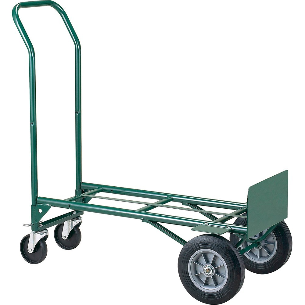 TOTALPACK® Heavy-Duty Hand Truck Metal Dual Purpose Solid Wheels 1 Unit
