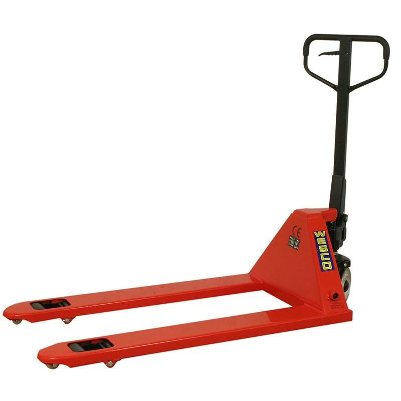 "Wesco® Pallet Jack 27"" x 48"" 5500 lb. Capacity Heavy Duty 1 Unit"