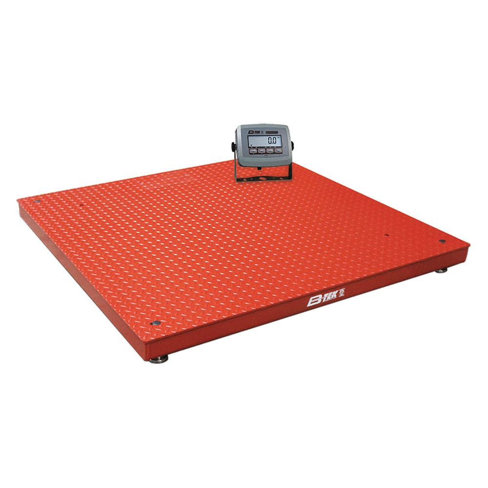 "B-TEK® Digital Scale Platform 48"" x 48"" Cap 5000 lb, 1 Unit"