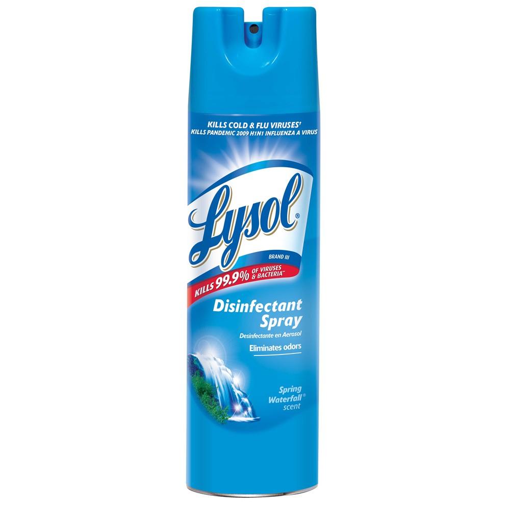 Lysol Disinfectant Spray Crisp Linen 79 Oz - 12 Units