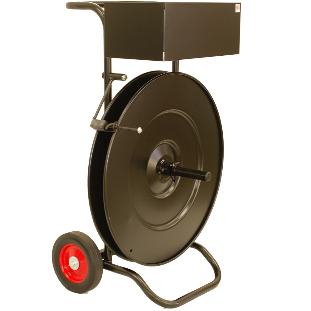 Strapping Dispenser Cart -Standard Duty- Metal/Poly Ep-3080
