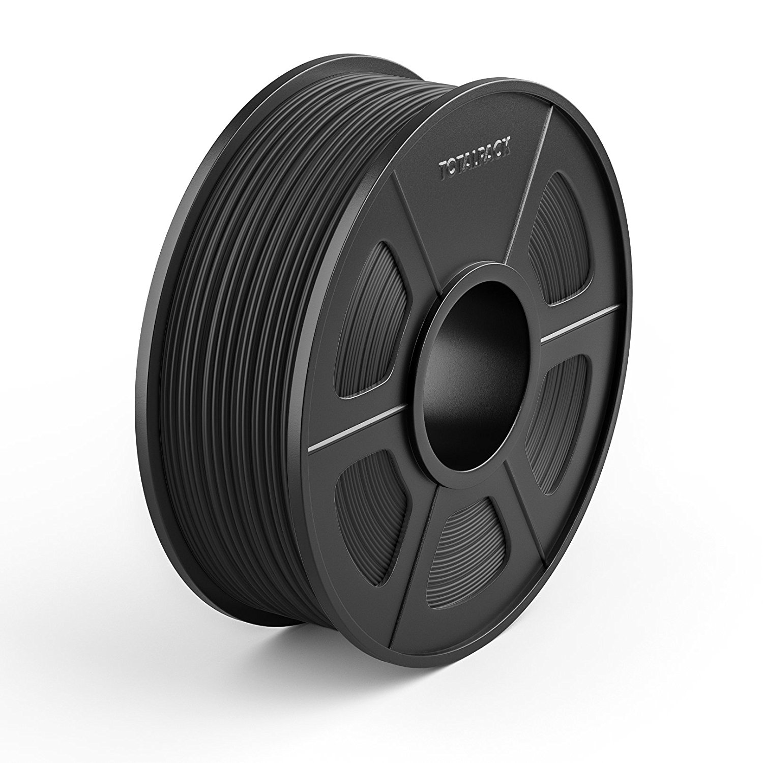 TOTALPACK 3D ABS 1.75mm Printing Filament For 3D Printers -Universal, Low Warp & Easy To Print Thermoplastic Filament, Dimensional Accuracy +/-0.02mm, Perfect For Beginners & Pros –1kg Spool