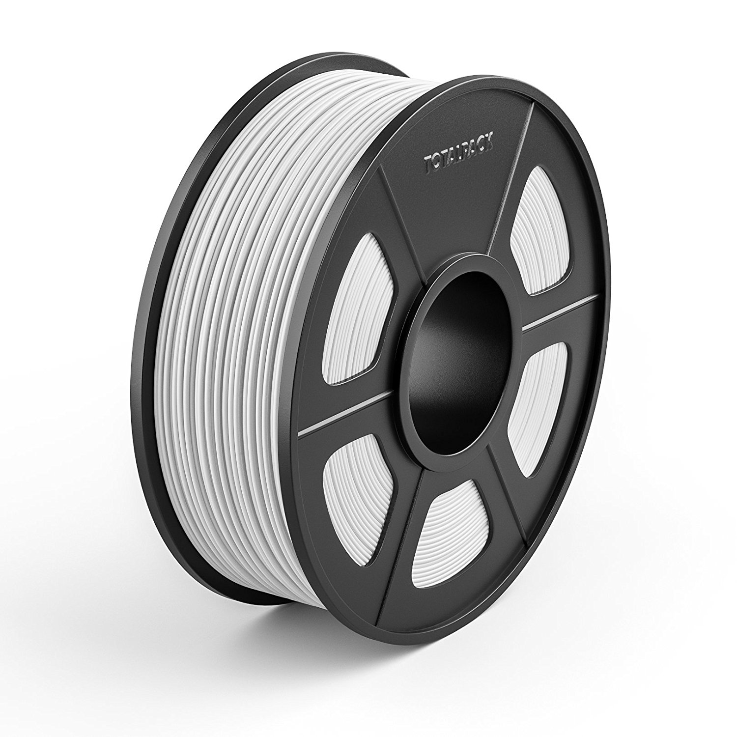 TOTALPACK 3D PETG 1.75mm Printing Filament For 3D Printers –Universal, Low Warp & Easy To Print Thermoplastic Filament, Dimensional Accuracy +/-0.02mm, Perfect For Beginners & Pros –1kg Spool