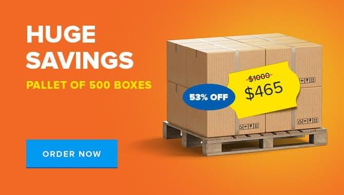 Huge Savings, Pallet Of 500 Boxes