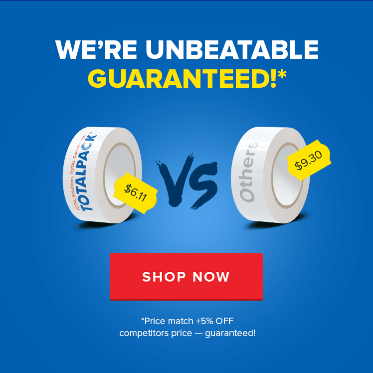 We're Unbeatable Guaranteed!*